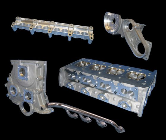 FVC Cylinder Heads and parts